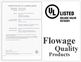 UL Listed / UL Approved Deluge Valves